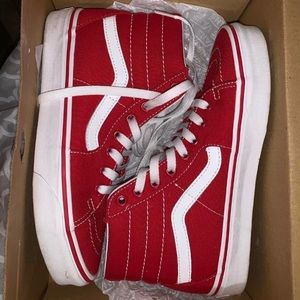 Vans used only once